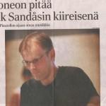 Kainuun Sanomat 15.07.2010